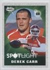 Derek Carr Fresno State Bulldogs (Football Card) 2014 SAGE Hit Silver #144