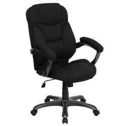 Flash furniture Black Microfiber High Back Office 
