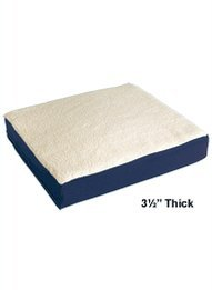 Forever Comfy Seat Cushion As Seen on Tv Coccyx Gel Seat Cushion with Fleece - for comfy cushion