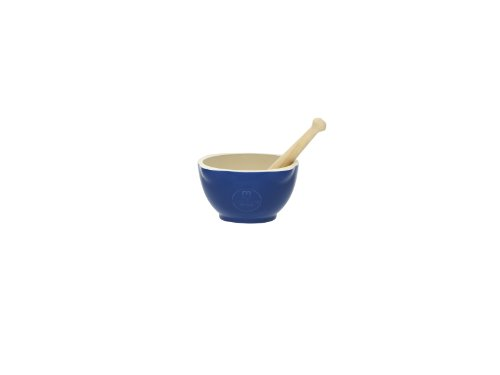 Emile Henry Classic Mortar and Pestle - Blue