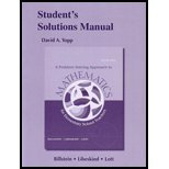 img - for Student's Solutions Manual for A Problem Solving Approach to Mathematics book / textbook / text book