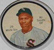1962 Salada Tea Coins (Baseball) Card# 29 Al Smith Of The Chicago White Sox Nrmt Condition