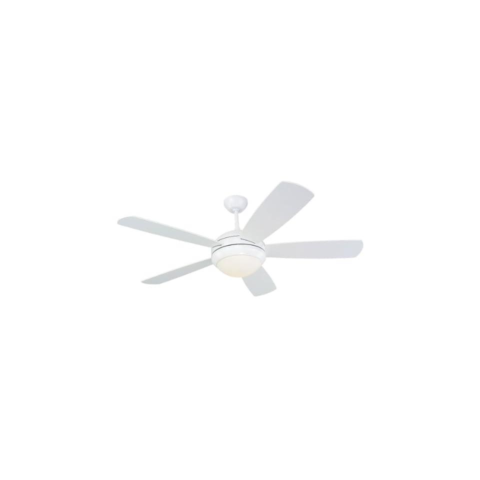 Monte Carlo 5DI52WHD L, Discus, 52 Ceiling Fan, White