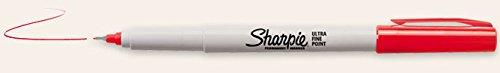 tin-cup-golf-ball-kennzeichnung-sharpie-pen-rot-ultra-fine-point