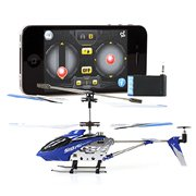 Blue iPhone iPad iTouch Controlled Syma S107 S107G - Channel RC Helicopter iCopter