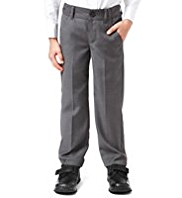 Autograph Adjustable Waist Straight Leg Trousers