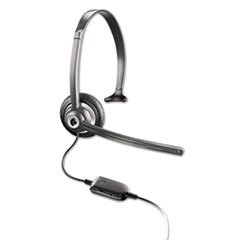 Plantronics M214C - M214C Over-The-Head Mobile/Cordless Headset W/Noise Canceling Mic