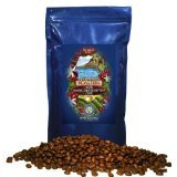 Hawaii Roasters 100% Jamaican Blue Mountain Coffee, Whole Bean, Medium Roast, 14-Ounce Bag