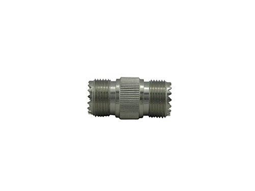 #1 Falcon Dual Female Adaptor for UHF Pl259 Coax Connector