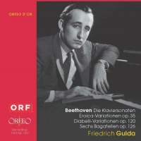 Beethoven: 32 Piano Sonatas / Variations Bagatelles (Friedrich Gulda Beethoven Sonata compare prices)