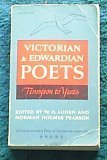 Victorian and Edwardian Poets Tennyson to Yeats