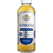 GTs Enlightened Organic Raw Kombucha Original, 16 Ounce -- 12 per case.