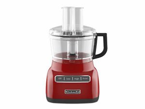 Kitchenaid Kfp0711Er 7 Cup Food Processor Kfp0711 Beautiful Empire Red New One Day Shipping Good Gift Fast Shipping front-1034192