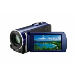 Sony HDR-CX115EL Full HD Camcorder (Flash, 25 fach optischer Zoom, 6,9 cm (2,7 Zoll) Display, EXMOR R Sensor, Touchscreen) blau