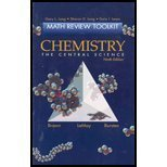 Chemistry: The Central Science (Math Review Toolkit) (0130098019) by Long, Gary L.