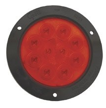 """Grote 53292 Supernova 4"""" Red With Black 10-Diode Pattern Turn Led Lamp"""