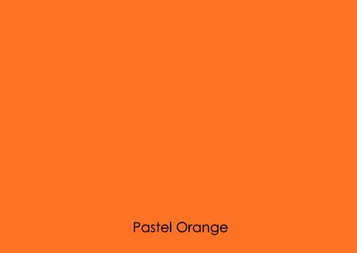 "12"" X 10 Ft Roll Of Matte Oracal 631 Pastel Orange Repositionable Adhesive-Backed Vinyl For Craft Cutters, Punches And Vinyl Sign Cutters By Vinylxsticker front-683492"