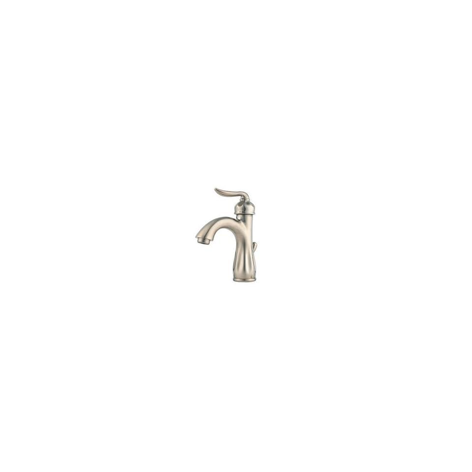 Price Pfister F042LT0K Sedona Single Hole Bathroom Faucet   Brushed Nickel