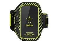 Belkin F8M409CWC02 - Brazalete deportivo para Samsung Galaxy S III, color negro/verde
