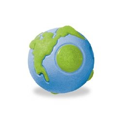Planet Dog Orbee Tuff Ball Blue/Green – SMALL