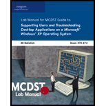 img - for MCDST 70-272: Supporting Users and Troubleshooting Desktop Applications on a Microsoft Windows Xp Operating System book / textbook / text book