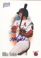 Mike Gulan Memphis Redbirds - Cardinals Affiliate 1996 Best Certified Autographed... by Hall of Fame Memorabilia