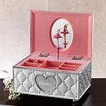 Personalized Childhood Memories Ballerina Jewelry Box by Lenox