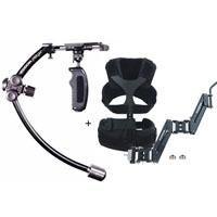 Steadicam Merlin 2 Stabilizer, Stabilization System for Camcorders and HD DSLR Cameras Up to 5lb - Bundle - with Steadicam Merlin Arm & Vest for Merlin Advanced Hand Held Stabilizer System