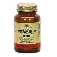 6770876 Pt# 33984033214 Vitamin D3 Softgels 400Iu 250/Bt Made By Solgar Vitamin & Herb Co