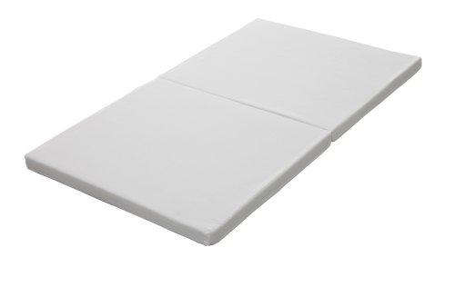 Japan-made baby mattress-solid cotton 2 white folding type