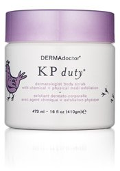 DERMAdoctor KP Duty dermatologist body scrub with chemical + physical exfoliation