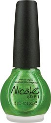 Nicole by OPI Nail Lacquer, Make Mine Lime, 0.5 Fluid Ounce