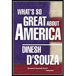 img - for Whats So Great About America (02) by D'Souza, Dinesh [Hardcover (2002)] book / textbook / text book