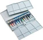Winsor and Newton Cotman Watercolour : Painting Plus Artist Box Set : 12x 8ml tubes. Cotman Watercolours are a range of moderately priced colours which are made to exacting standards and have been carefully selected to offer a wide colour spectrum with a