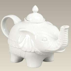 Elephant shaped teapot 6 tea sets kitchen dining - Elephant shaped teapot ...