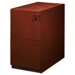 ** Luminary Series Wood Veneer File/File Pedestal, 15W X 22D X 27-3/4H, Cherry ** front-275331