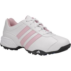 adidas Junior University - White / Pink (WIDTH: Medium, SHOE SIZE:4.5)