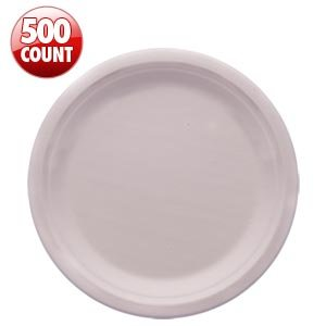 "Eco Kloud 9"" Compostable Plate Bagasse Sugarcane 500 Ct"