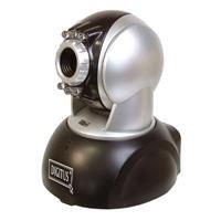 Caméra réseau IP jour/nuit, pivotable / inclinable résolution maximale de 640 x 480 avec 15 FP...
