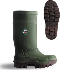 Dunlop PUROFORT THERMO PLUS C661843 / Mens Boots (9 UK) (Green)