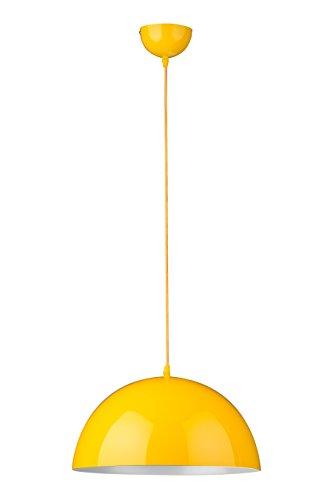 Premier Housewares Hängelampe Edison Screw gelb