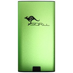 6000 mAh PowerBar Portable Charger Green Photo