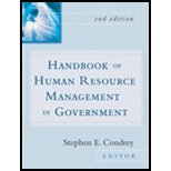 img - for Handbook of Human Resources Management in Government [Jossey-Bass,2004] [Hardcover] 2ND EDITION book / textbook / text book