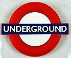 (London) Underground roundel rubber fridge magnet