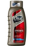 Dial for Men Magnetic, Attraction Enhancing-Phermone Infused Body Wash 21 fl oz (621 ml)