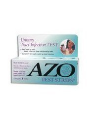 Azo Test Strips for Urinary Tract Infection - 3 Test Strips Personal Healthcare / Health Care