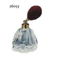 ドイツ製クリスタル香水瓶リードクリスタル 短 40cc レッド 26053 0916233