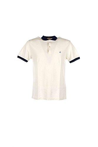 Polo Uomo Brooksfield 201A.A013 Bianco Primavera/Estate Bianco 46