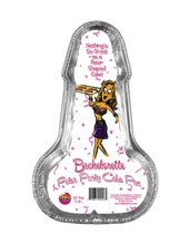 Hott Products 02246 10-Inch Penis Cake Pan Bachelorette Peter Party - 2 Pack