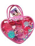 Minnie Mouse Heart Shape Bag with Hair Accessories